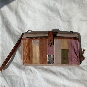 The Sak wallet clutch, used once.